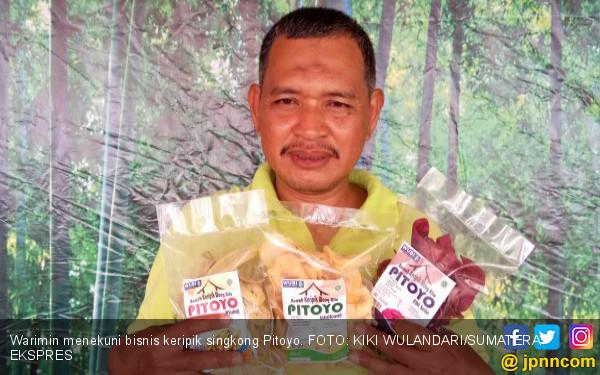 Jualan Keripik Singkong Terkerek Online, Omzet Rp 30 Juta - JPNN.COM