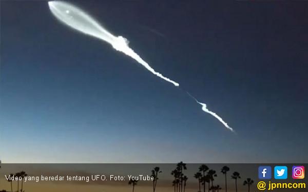 Wow, Militer AS Rekam Penampakan UFO - JPNN.COM