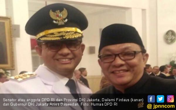 Dukung Anies, Senator DKI: Kami Mau Berpihak Rakyat Kecil - JPNN.COM