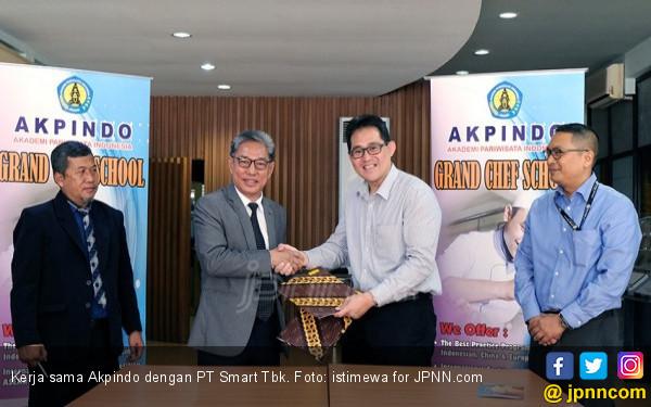 Majukan Pendidikan Kuliner, SMART Gandeng AKPINDO - JPNN.COM