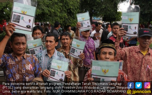 Sertifikat Tanah Gratis dari Jokowi Itu Kini