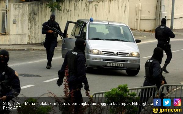 Satgas Anti-Mafia Tangkap 200 Anggota Ndrangheta - JPNN.COM