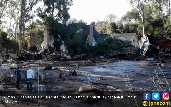 Dahsyatnya Banjir California: Sekejap, Rumah Lenyap - JPNN.COM