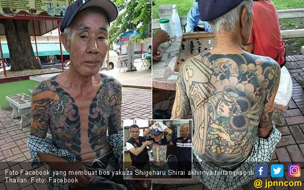 15 Tahun Buron, Bos Yakuza Tertangkap karena Foto Facebook - JPNN.COM
