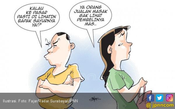 Suami Serbasalah Punya Istri Cantik dan Seksi - JPNN.COM