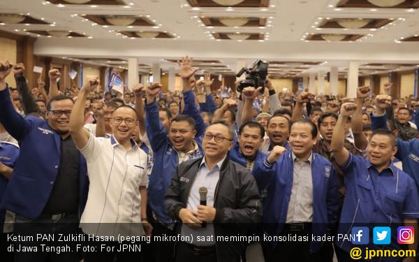 Pimpin Konsolidasi Kader PAN di Jateng, Ini Pesan Zulhasan - JPNN.COM
