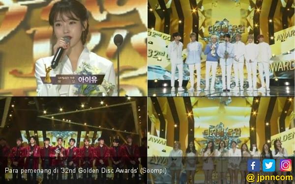 Duka untuk Jonghyun SHINee Warnai Golden Disc Awards 2018 - JPNN.COM