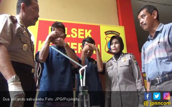 Pecandu Zaman Now, Berani Nyabu di Poskamling - JPNN.COM