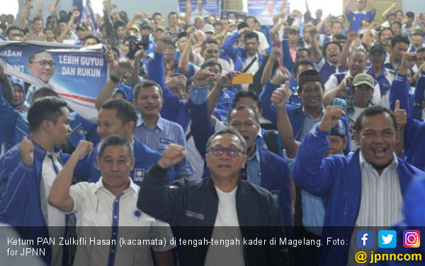 Zulkifli Hasan: Kader PAN Jadi Rebutan di Pilkada - JPNN.COM