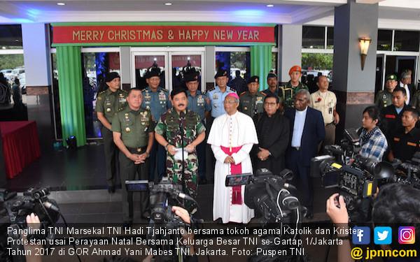 Panglima TNI: Natal Membawa Keselamatan kepada Umat Manusia - JPNN.COM