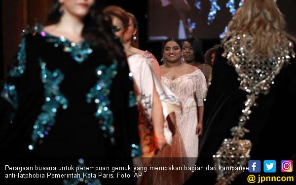 Perang Melawan Fatphobia di Kiblat Mode Dunia - JPNN.COM
