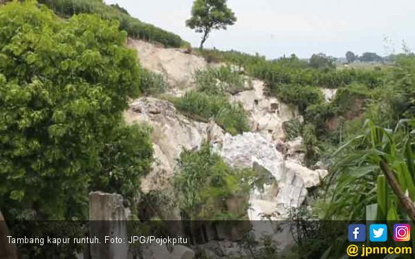Bukit Kapur Dua Hektar Tiba-Tiba Runtuh - JPNN.COM