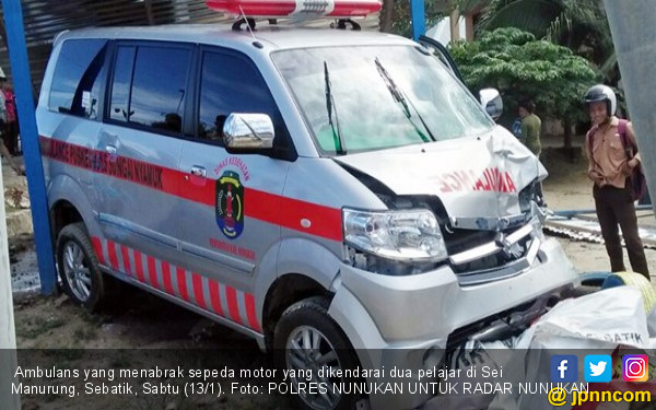 Gadis Purnama dan Sayzrin Tewas Diseruduk Ambulans - JPNN.COM