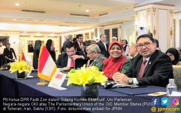 Fadli Zon Dorong Parlemen Negara Islam Solid agar Berwibawa - JPNN.COM