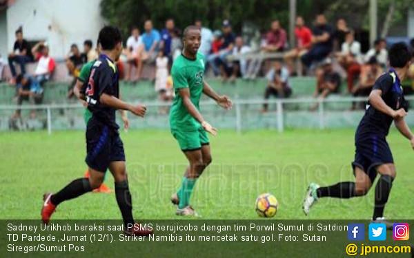 Bungkam Tim Porwil Sumut, Striker Asing PSMS Unjuk Ketajaman - JPNN.COM