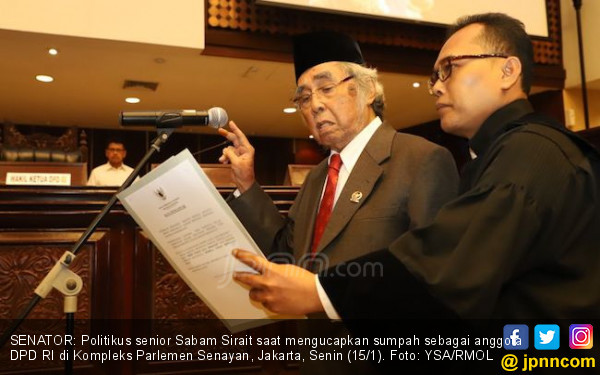 Pesan Pak Sabam: Jangan Golput, Banggalah Jadi Orang Indonesia - JPNN.COM
