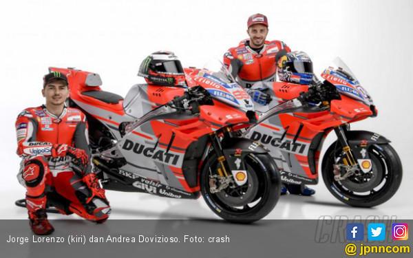 Andrea Dovizioso Sebut Tampilan Ducati 2018 Menakjubkan - JPNN.COM
