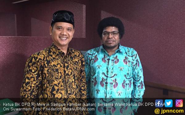 Mervin: Janji Saya Sebagai Ketua BK DPD Telah Terpenuhi - JPNN.COM