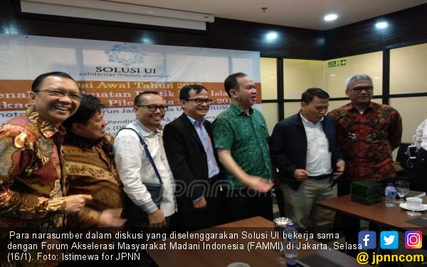 Tahun Politik, Solusi UI Minta Kader Parpol Jauhi Korupsi - JPNN.com