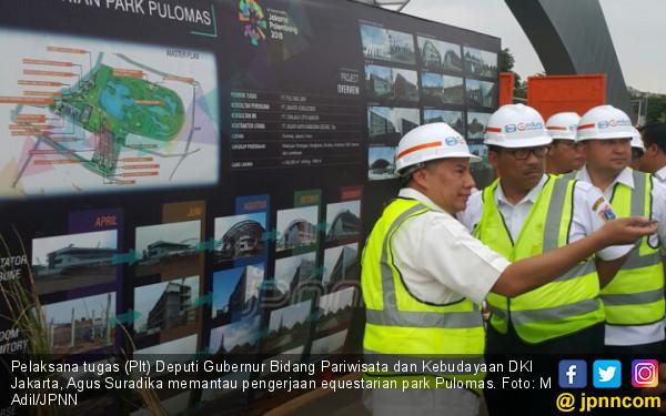 Arena Balap Kuda Asian Games Rampung Lebih Cepat Dari