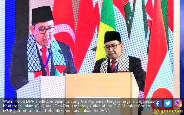 Fadli Zon Ajak PUIC Kompak agar Tak Kesulitan Bela Palestina - JPNN.com