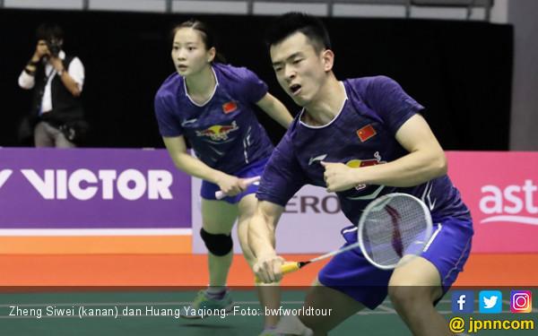 34 Menit, Zheng Siwei / Huang Yaqiong Kampiun Denmark Open - JPNN.com