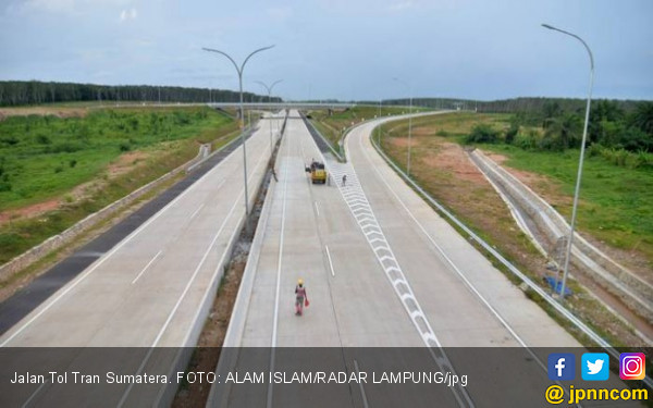 Presiden Jokowi Besok ke Lampung Resmikan JTTS - JPNN.COM