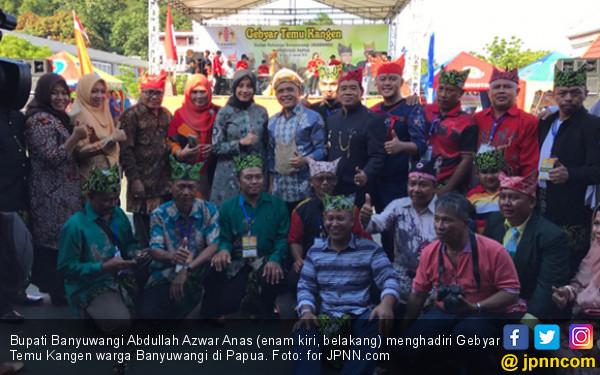 Bupati Anas Temu Kangen Diaspora Banyuwangi di Papua - JPNN.COM