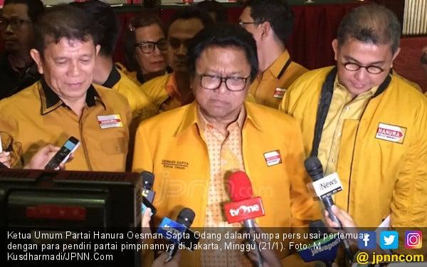 Oso dan Wiranto Bertemu, Bahas Hanura? - JPNN.COM