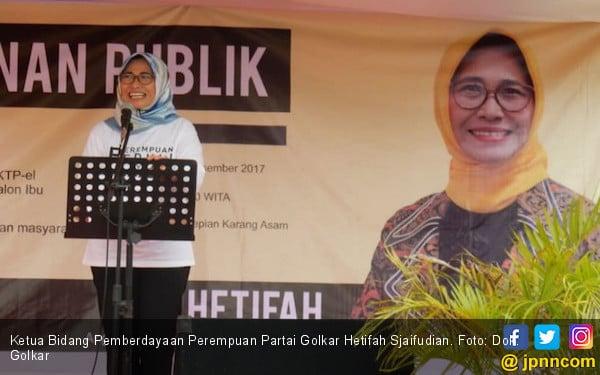 Hetifah Siap Berjuang Memenangkan Calon Kada Perempuan - JPNN.COM