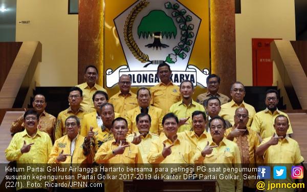 Golkar Kurang Happy Demokrat Masuk Kabinet Jokowi? - JPNN.com