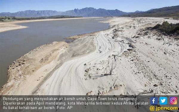 Mengerikan, Kota Ini Bakal Kehabisan Air dalam Tiga Bulan - JPNN.com