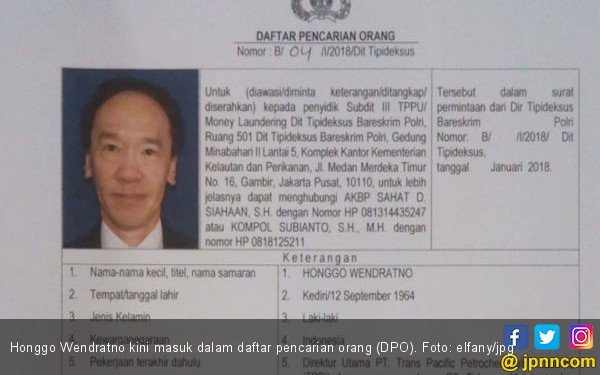 Buru Mantan Bos TPPI, Polri Limpahkan Raden Priyono dan Djoko Harsono - JPNN.com