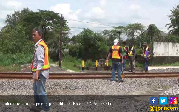 Ada 140 Titik Jalur Kereta Api tanpa Palang Pintu - JPNN.com