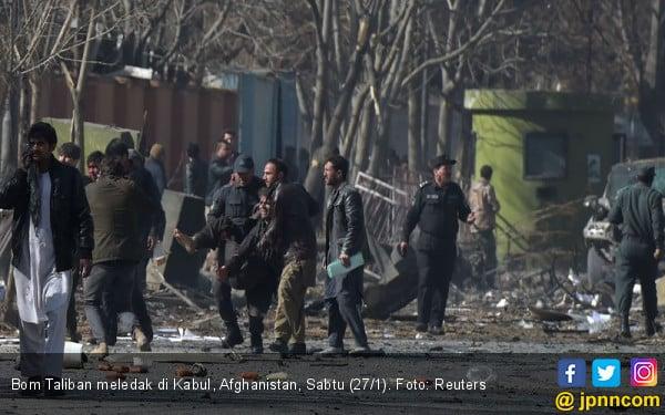 Jelang Kesepakatan Damai, Afghanistan Kembali Diguncang Ledakan - JPNN.com