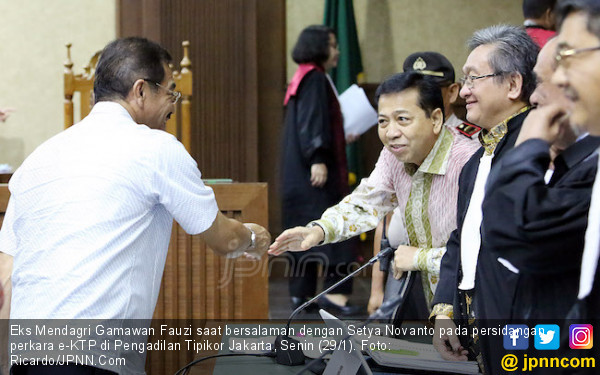 Wallahi, Gamawan Siap Dihukum Mati Jika Terima Rasuah e-KTP - JPNN.com