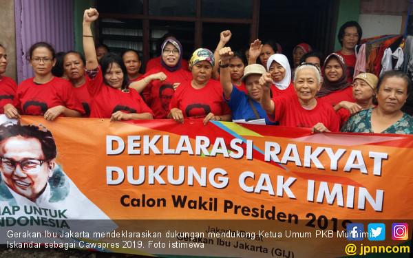 Kaum Ibu Jakarta Diajak Mendukung Cak Imin Jadi Wapres - JPNN.COM