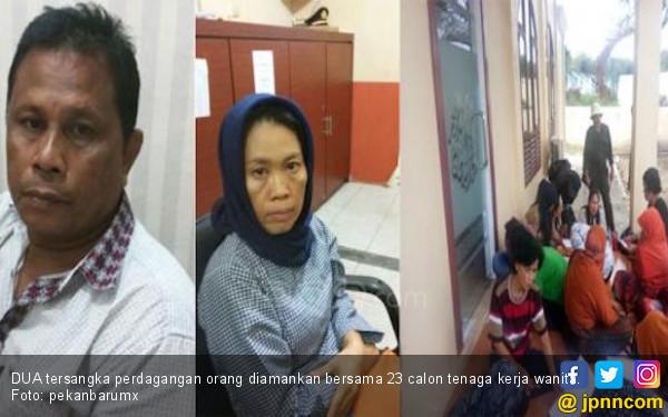 Polisi Gagalkan Pengiriman 23 TKW Ilegal, 2 Orang Masih ABG - JPNN.COM