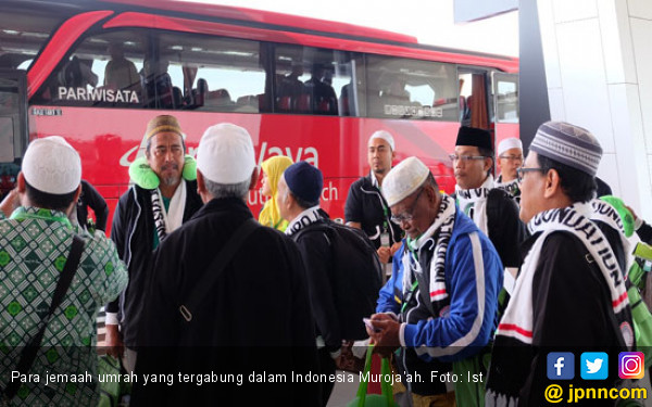 Alhamdulillah, 43.874 Jemaah Umrah Sudah di Tanah Air - JPNN.com