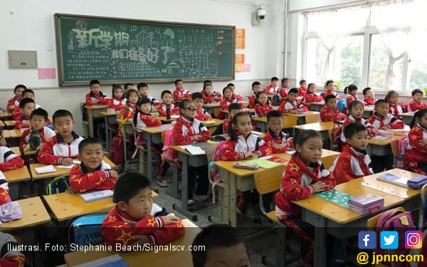 Ha ha ha..Soal ala Cak Lontong Bikin Keki Siswa Tiongkok