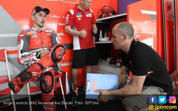 Jorge Lorenzo Patahkan Rekor Marc Marquez di Pramusim MotoGP - JPNN.COM