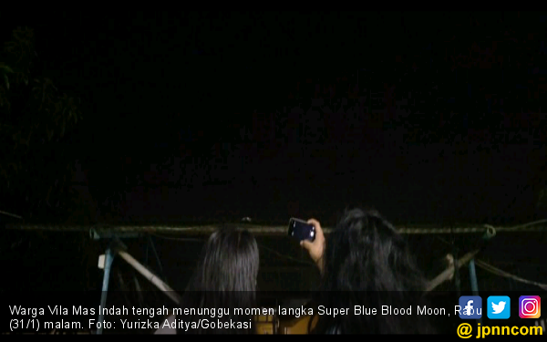 Warga Vila Mas Indah Tak Bisa Saksikan Gerhana Bulan - JPNN.COM