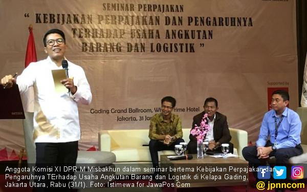 Misbakhun Dorong Pengusaha Truk Perjuangkan Insentif Pajak - JPNN.COM
