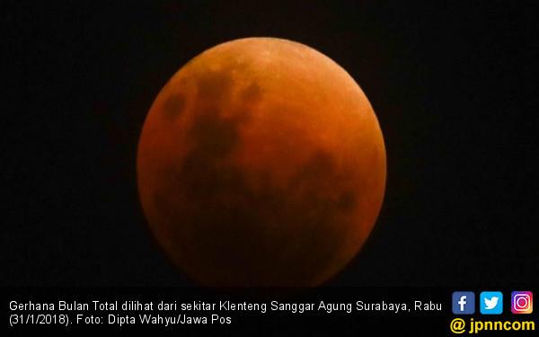 Kok gak Kelihatan Bulan Merah Darah? Begini Penjelasannya - JPNN.COM