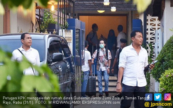 Geledah Vila Zumi Zola, Tim KPK tak Bisa Buka Brankas - JPNN.com