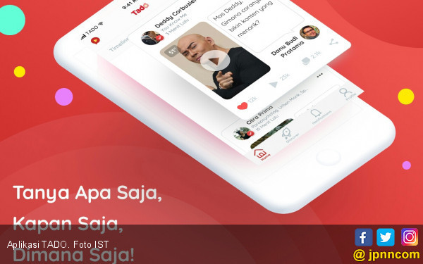 Aplikasi TADO, Cara Asyik Kepo-in Dia - JPNN.COM
