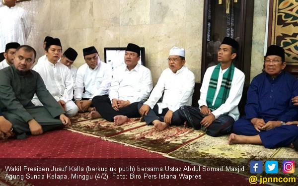 Inilah Penilaian Pak JK tentang Ceramah Ustaz Abdul Somad - JPNN.COM