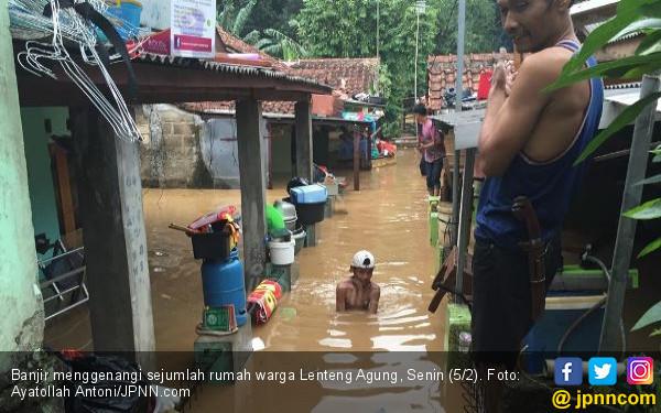 Pak Anies, 18 Kelurahan dan 54 RW Kebanjiran Lagi - JPNN.COM