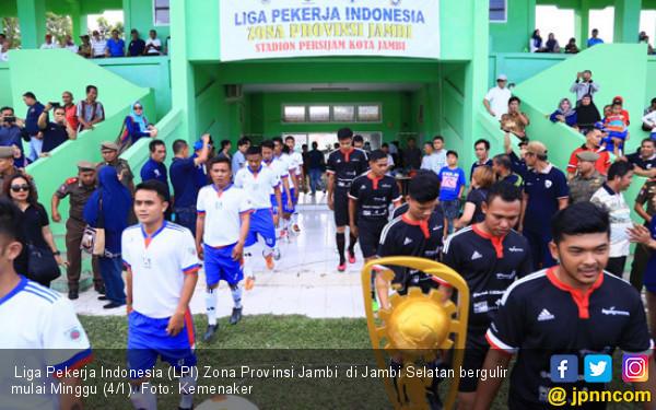 Liga Pekerja Indonesia Ajang Meningkatkan Keharmonisan