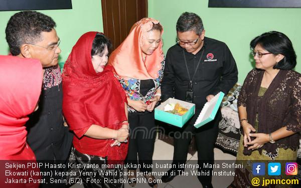 Aroma Kuliner Lokal dalam Diskusi Kebangsaan Hasto-Yenny - JPNN.COM
